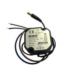Alimentatore stabilizzato IP67 12V-1,5A per telecamere, Bemax