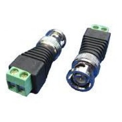 Connettore BNC-LAN, zinco-rame, conf. 25pz, Bemax