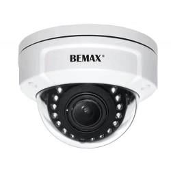 Telecamera Dome IP est. 5Mp, 12 led, 12M, PoE, Bemax