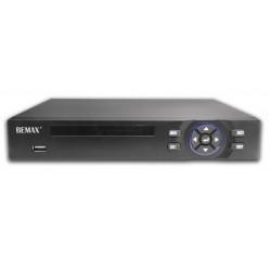 NVR 16 canali 5Mp, VGA-HDMI, 1 Sata,  Bemax