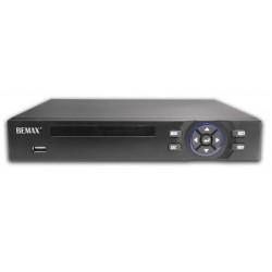 NVR 32 canali 5Mp/8*4K, VGA-HDMI, 2 Sata,  Bemax