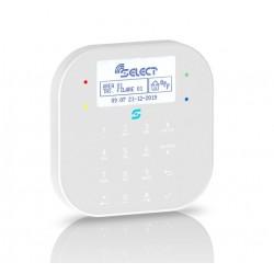 Tastiera touch capacitiva su BUS485, bianco