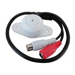 Microfono per DVR cablato RC, 150mq, trimmer, AGC, Bemax