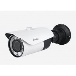Telecamera bullet ottica motorizzata autofocus 2,7~12 mm, WDR> 120 dB, 2MP PoE